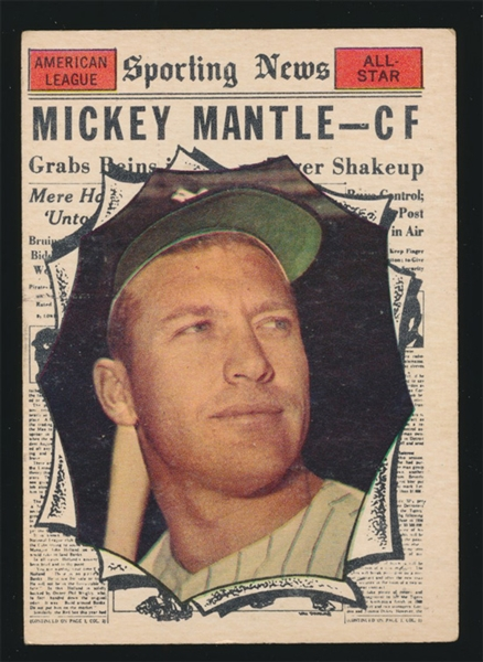 BB 61T #578 Mickey Mantle AS
