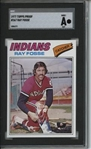 1977 Topps #267 Ray Fosse 9 card progressive proof.