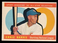 BB 60T #560 Ernie Banks All Star