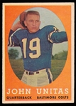 FB 58T #22 Johnny Unitas