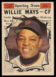 BB 61T #579 Willie Mays AS