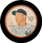BB 62S #41 Mickey Mantle