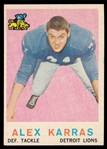 FB 59T #103 Alex Karras Rookie
