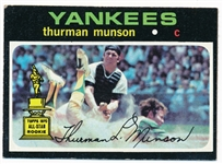 BB 71T #5 Thurman Munson