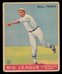 BB 33G #20 Bill Terry
