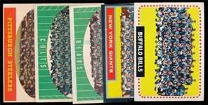 FB (5) Topps Team Cards