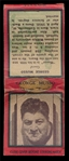 FB 37D Matchbook George Musso