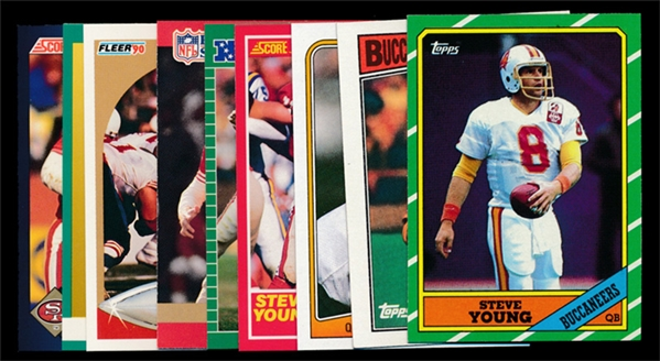 FB (9) Steve Young Cards