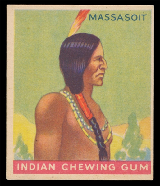 NS 33G Indian #32 Massasoit series of 96